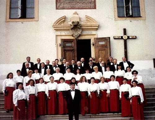 Voces Cántabras, Gira de la coral en la Rep. Checa (Kijov) agosto de 1995